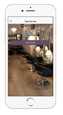 Tiga Hair Spa App