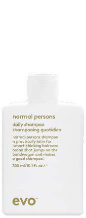 normal persons daily shampoo