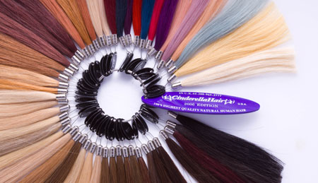 Cinderella Hair Extensions Colour Wheel