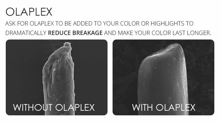 Olaplex -repairing damaged hair